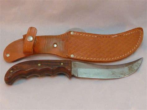 hoffritz knives hoffritz trapper knife vintage solingen germany leather