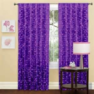 Purple Bathroom Window Curtains Gigi Window Curtain Panel In Purple Contemporary Curtains By Bed Bath Beyond