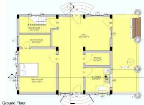 South Facing House Floor Plans 53 30x40 House Floor Plans Plan A1 Ground Floor Plan