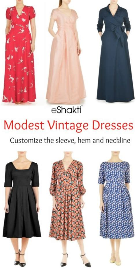 modest vintage style dresses where to buy
