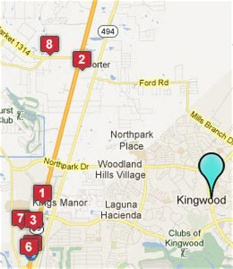 map of kingwood texas kingwood texas hotels motels see all discounts