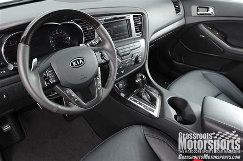 Kia Optima Manual Transmission 2012 Kia Optima Sx New Car Reviews Grassroots Motorsports