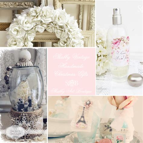 Handmade Gifts Tutorials - shabby vintage handmade gift giving shabby boutique