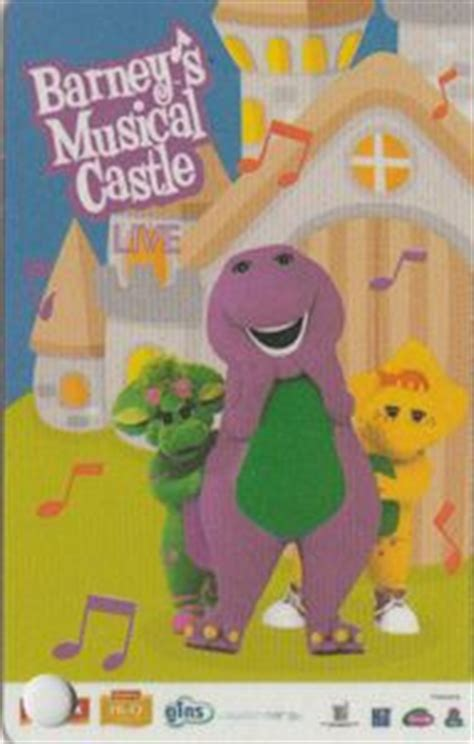 Barneys E Gift Card - pin barneys musical castle dvd version music videos on pinterest