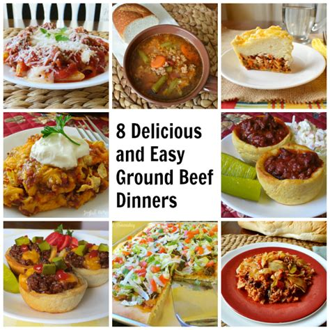 easy dinner for 8 8 more delicious and easy ground beef dinner ideas