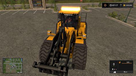mod of let s farm game volvo l220h v4 0 mod farming simulator 2017 mod ls 2017