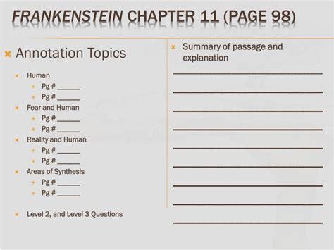 PPT - Unreal Literature Week 10 PowerPoint Presentation ... Frankenstein Sparknotes Chapter 11