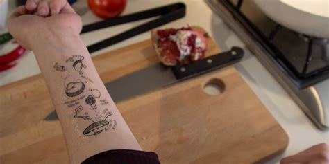 Tattoo Ink Recipe | i tradizionali takes culinary tattoos to a whole new