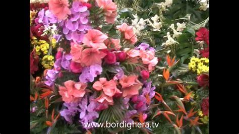carri fioriti sfilata carri fioriti sanremo 2012 bordighera tv