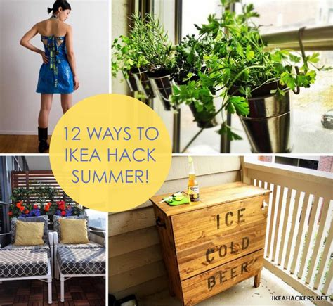 Backyard Room 12 Ways To Ikea Hack Summer Ikea Hackers Ikea Hackers