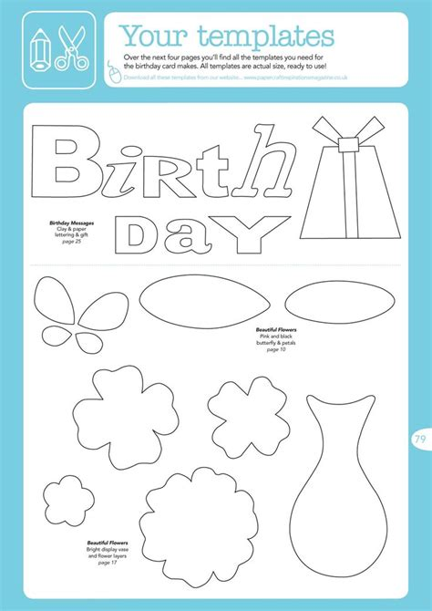free handmade cards template 36 best images about birthday cards templates on