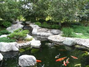japanese garden koi pond by ryuaku on deviantart