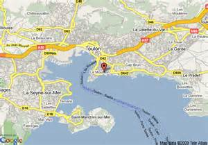 Toulon France Map by Map Of Best Western La Corniche Toulon