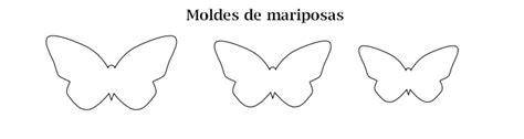 moldes para mariposas de papel mariposa de papel molde imagui