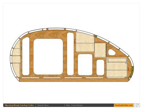 teardrop trailer floor plans wyoming woody teardrop trailer plans 57 teardrop builder