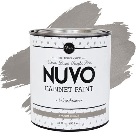 nuvo cabinet paint kit hearthstone nuvo hearthstone cabinet paint giani inc