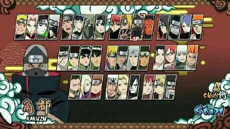 download game mod naruto senki for android set sprite naruto senki apk android games gapmod com appmod