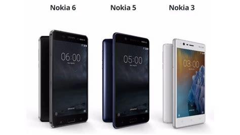 Nokia 5 3 16gb nokia粉丝等够了 nokia 3 5 6确定了 5月30日大马正式发布