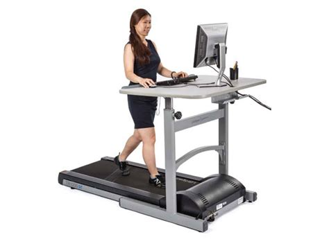 Laptop Desk For Treadmill Best Treadmill Desks Consumer Reports