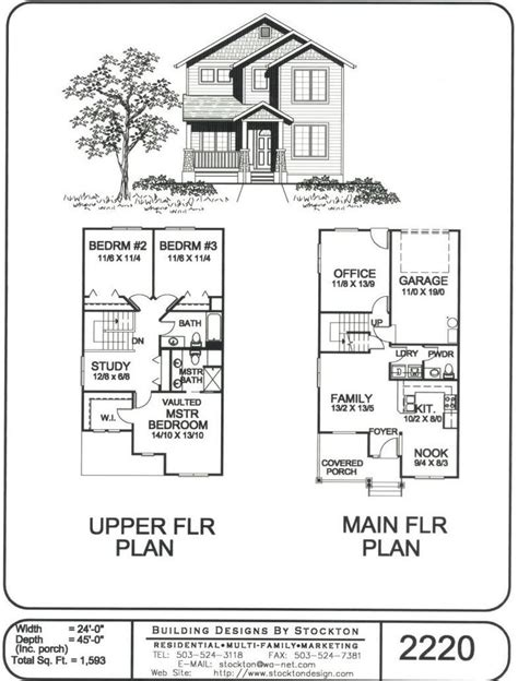Rear Entry House Plans by Rear Entry Garage Home Floor Plans