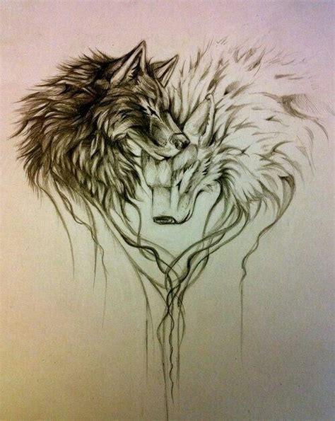 wolf tattoo designs for couples best 25 wolf tattoos ideas on pinterest tree tattoo