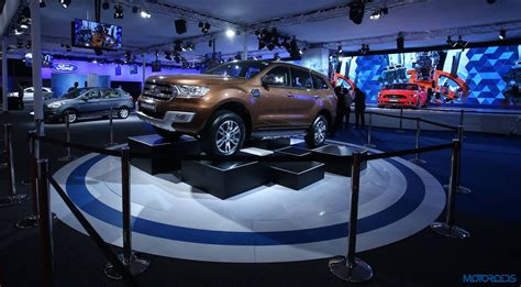 Ford Expo Auto Expo 2016 Ford Showcases New Endeavour And More