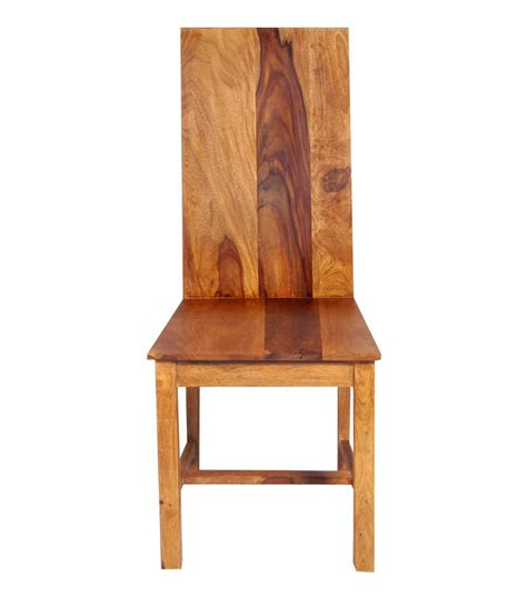Z Dining Chairs Best Price Draco Wood Stock Dining Chair With Cushion Seat Buy At Best Price In India On Snapdeal