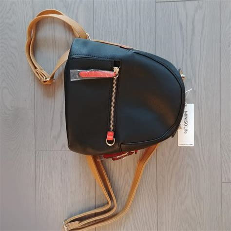 Miniso Backpack By Treat N find more miniso faux leather mini backpack for sale at up