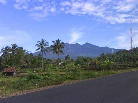 ipa edukasi pesona keindahan gunung berapi gunung