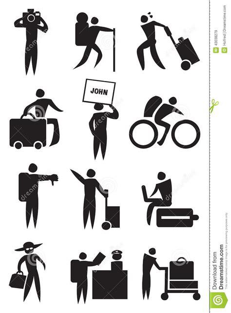 imagenes de vacaciones en blanco y negro actividades de aeropuerto e icono del viaje fijado en