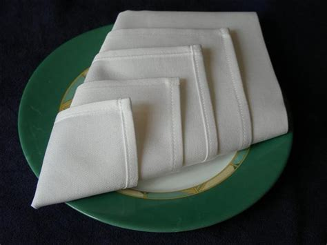 Simple Napkin Origami - serviette napkin folding easy make in advance recipe
