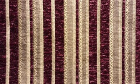 wide drapery fabric chenille fabric burgundy stripe upholstery drapery fabric