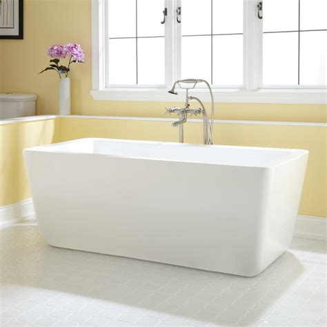 Acrylic Tub Audra Acrylic Freestanding Tub Bathroom