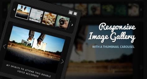 Jquery Image Gallery With Thumbnails Tutorial