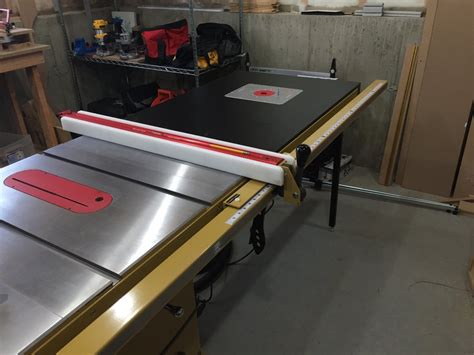 powermatic table saw pm1000 review powermatic pm1000 one year in by rizzo