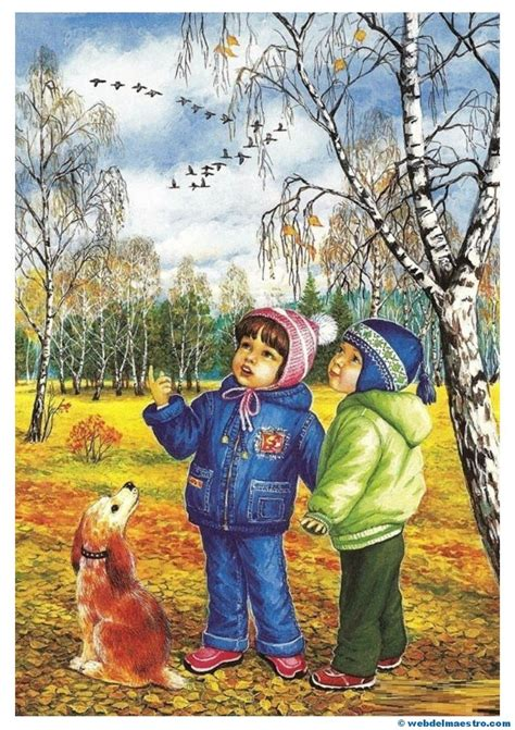 imagenes de otoño primavera verano im 225 genes educativas el oto 241 o las estaciones del a 241 o