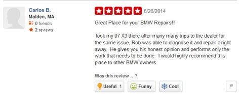 boston motor werks postive review for a bmw x3 repair boston motor werks