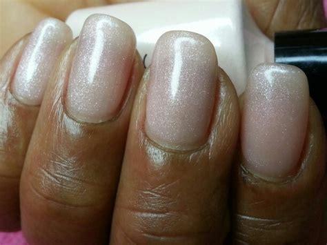cnd vinylux topcoat and polish in grapefruit sparkle cnd shellac grapefruit sparkle nails shellac pinterest