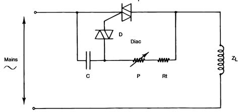 inductive load circuit how to use triacs for controlling inductive loads like transformers and ac motors