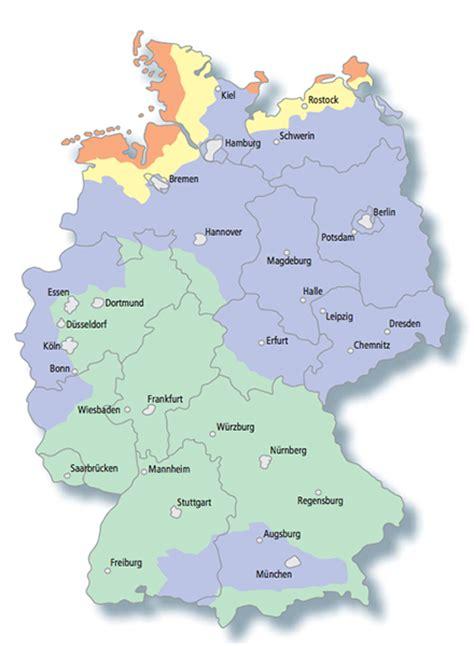 Deutsches Büro Grüne Karte Fax by Windzonen Nach Postleitzahl Dehn Deutschland