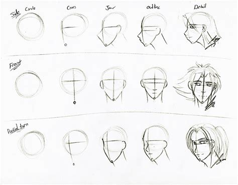 pattern in sketch 3 face sketch tutorial by juacamo on deviantart
