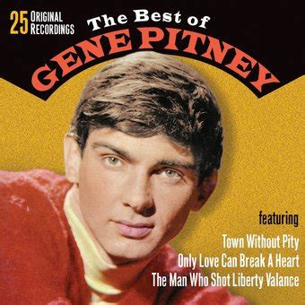 Gene Pitney Liberty Valance The Best Of Gene Pitney Cd 2008 Collectables Records