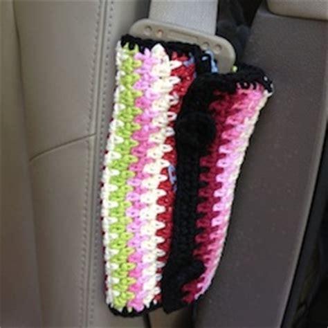 seat belt cover pattern seat belt cover crochet pattern