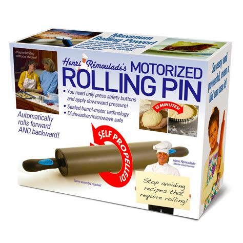 novelty motorised rolling pin fun birthday christmas prank