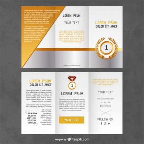 flyer templates free awards flyer template vector free
