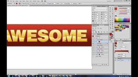 adobe illustrator cs6 justify text easy and awesome text and bevel effects for adobe