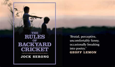backyard cricket rules menumbuhkan minat menulis dan membaca di uwrf satellite