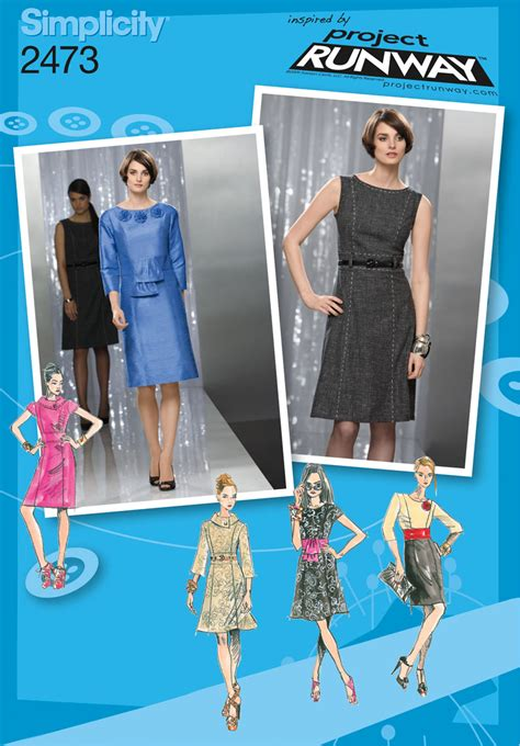 sewing pattern review forum simplicity 2473 misses dresses