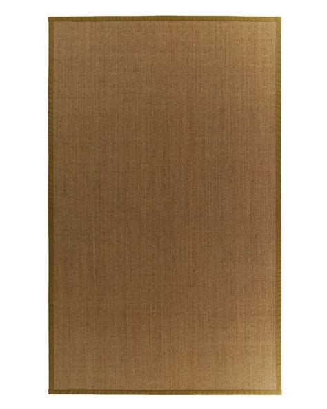 bound area rugs lanart rug sisal bound moss 62 9 ft x 12 ft area rug the home depot canada