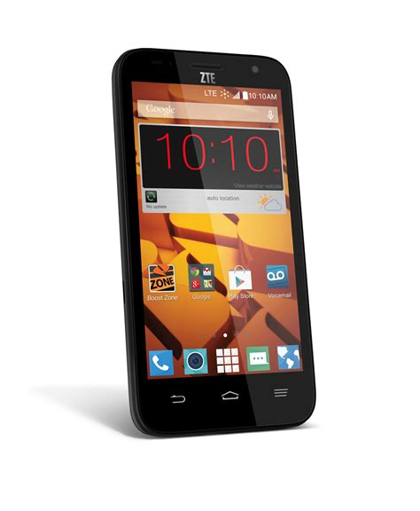 zte android phone boost mobile introduces the zte speed a 99 contract android phone